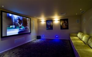 impianto home cinema Costa Smeralda
